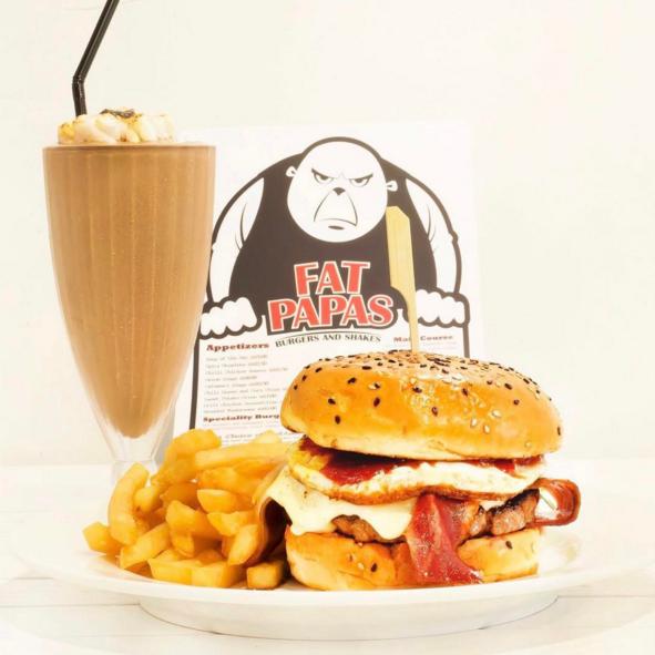 Fatpapas halal burger bar
