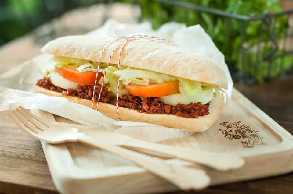 Seng Kee hae bee hiam sandwich
