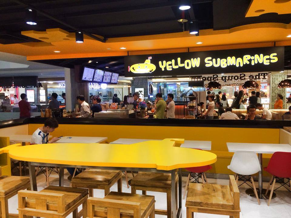 Yellow Submarine Cheesesteaks (Bugis Junction)