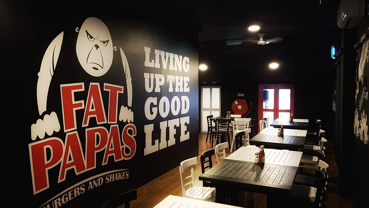 Fatpapas halal burgers Singapore