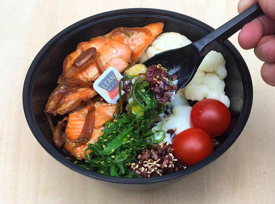 Lean Bento halal health food