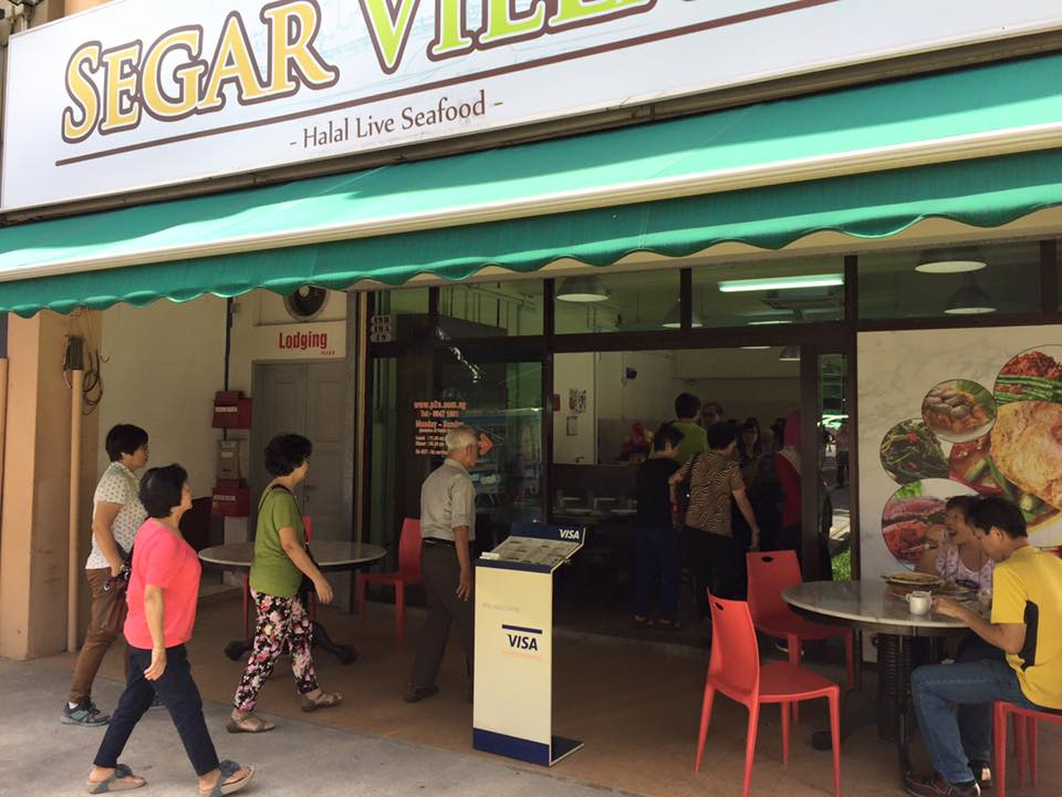 Segar Village halal seafood restaurant Singapore