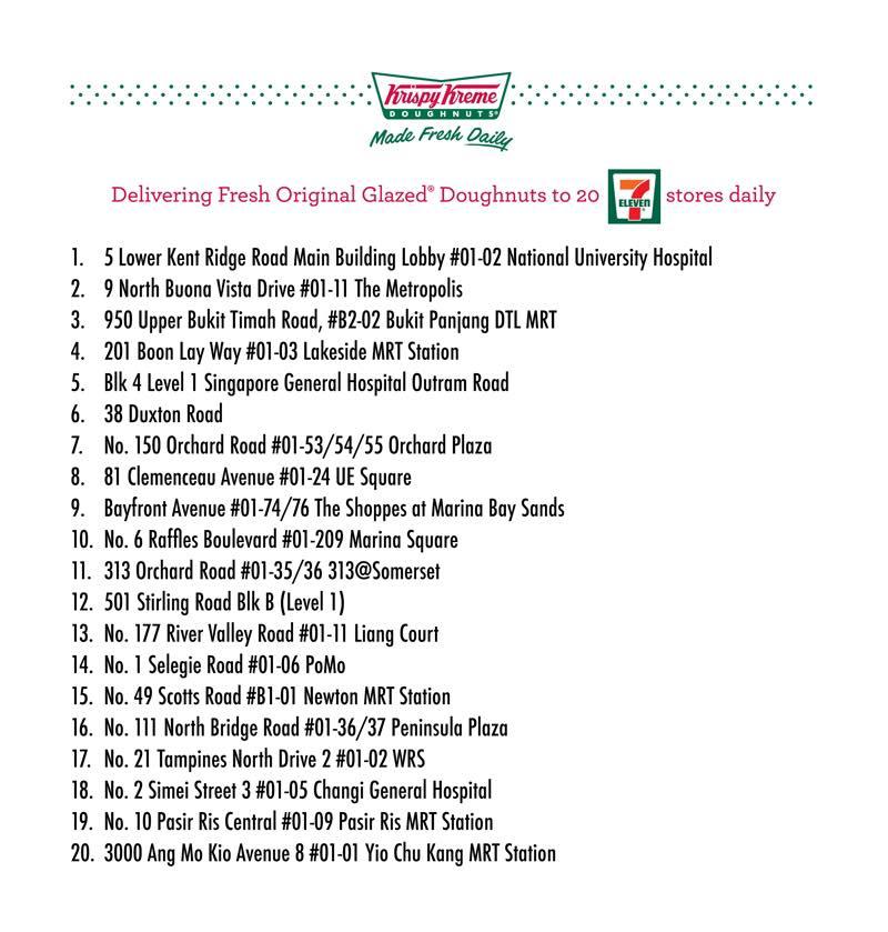 Krispy Kreme at 7-Eleven
