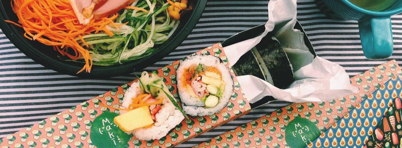 Maki-San halal sushi delivery Singapore