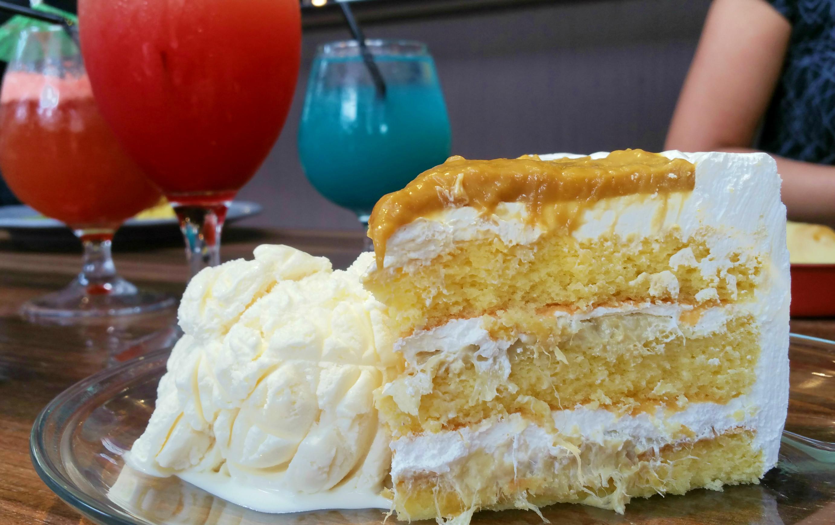 Halal Noosh durian pengat cake