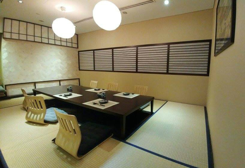 Santaro by Gion private tatami room