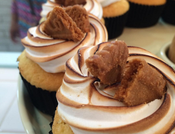 Speculoos cupcakes from Fluff Bakery