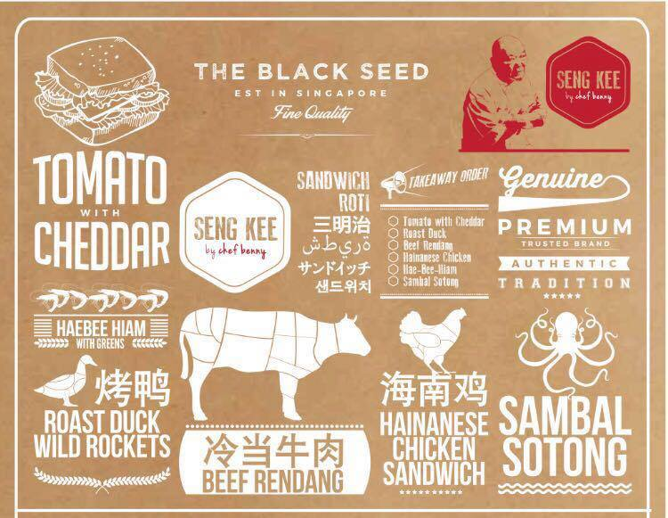 Seng Kee the Black Seed menu