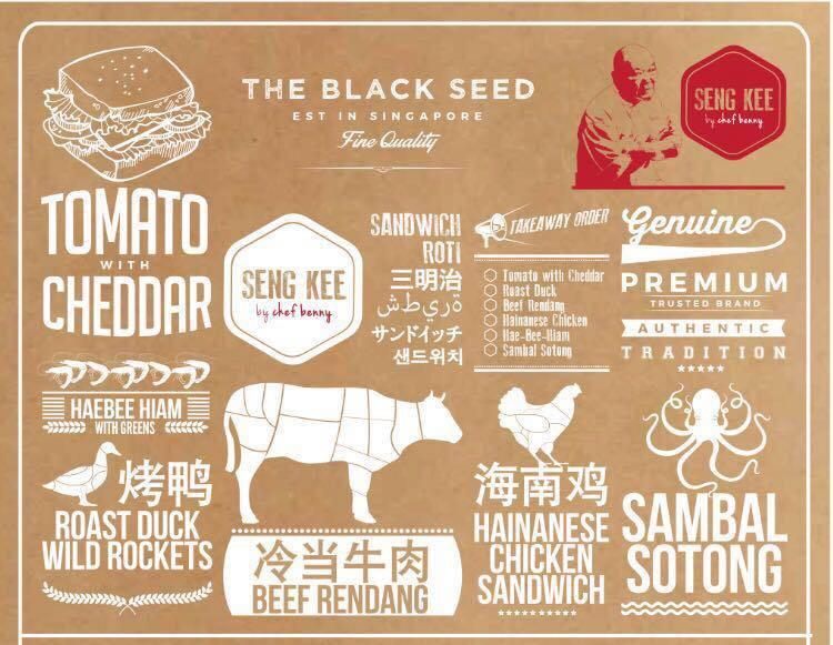 Seng Kee the Black Seed menu