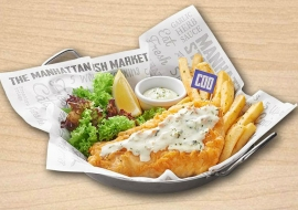 The Manhattan Fish Market (City Square)