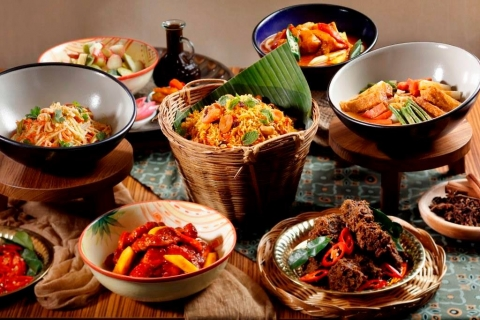 New lunch buffet at 21 on Rajah