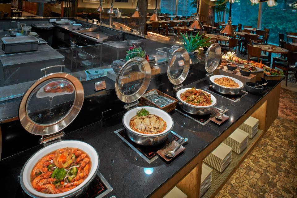 Halal buffet in Singapore, 1 Market by Chef Wan