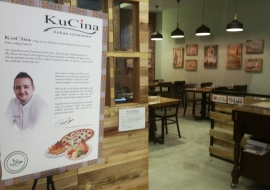 Kucina halal Italian restaurant in Singapore